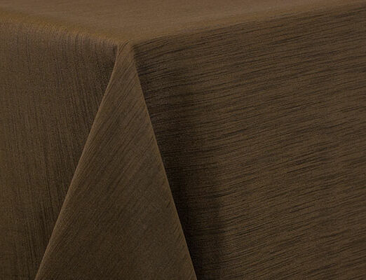 Brown Dupioni Linen