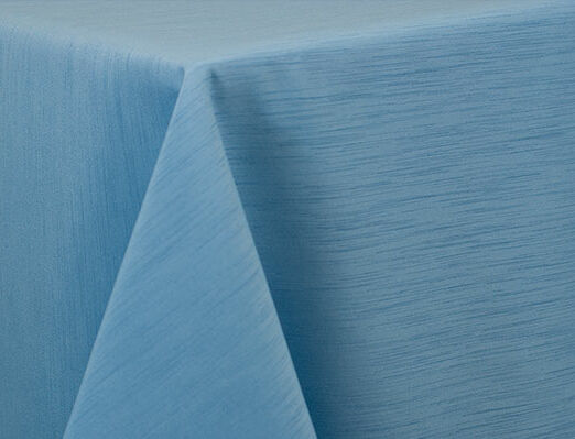 Light Blue Dupioni Linen