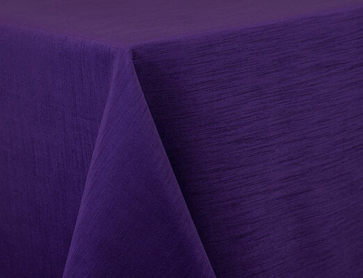 Purple Dupioni Linen