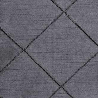Pewter Nova Pintuck Linen